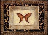 Winged Ornament I Art Print