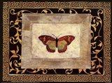 Winged Ornament II Art Print