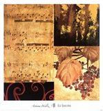 Autumn Waltz II Art Print