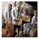 Jazz En Vivo Art Print