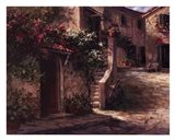Magliano Courtyard Art Print