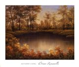 Autumn's Song Art Print