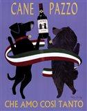 Cane Pazzo Art Print