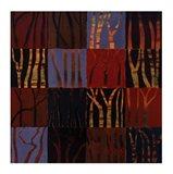 Red Trees II Art Print