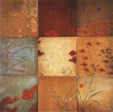 Poppy Nine Patch Art Print