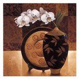 Orqudea Linda II Art Print