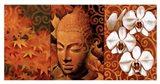 Buddha Panel II Art Print