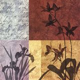 Floral Refrain II Art Print