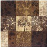 Floral Nine Patch Art Print