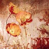 Poppy Heat II Art Print