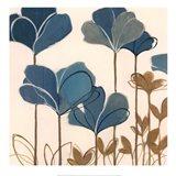 Ladybug Flowers II Art Print