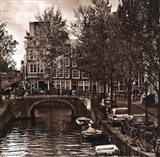 Autumn in Amsterdam IV Art Print