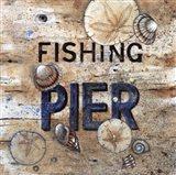 Fishing Pier Art Print