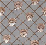Scallop Shell Net Art Print