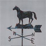 Rural Relic Horse Art Print