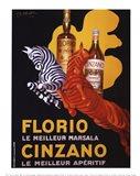 Florio e Cinzano, 1930 Art Print