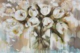 Pure Blanc Tulipa Art Print