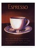 Urban Espresso Art Print