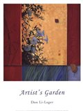 Artist's Garden Art Print