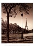 An Afternoon Stroll - Paris I Art Print
