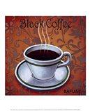 Black Coffee Art Print