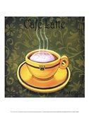 Caf Latte Art Print