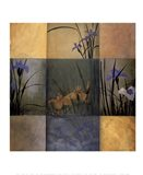 Iris Nine Patch Art Print