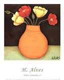 Flores Coloridas II Art Print
