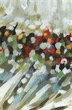 Poppy Swirls III Art Print