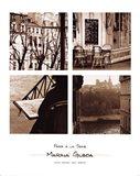 Paris A La Seine. Art Print