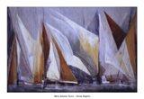 Ocean Regatta Art Print