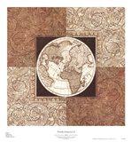 Worldly Perspective II Art Print