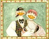 The geese Family III Art Print