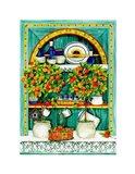 The Blossoming Kitchen I Art Print