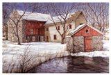 Old Spring House Art Print