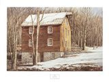 Mill in the Woods Art Print