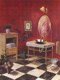 Regency Bath II Art Print