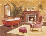 Aspen Bath II Art Print