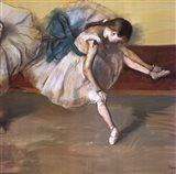 Danseuse Au Repos Art Print