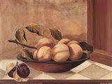 Tuscan Fruit Bowl II Art Print