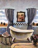 Vintage Bath II Art Print