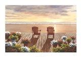 Evening Deck View Art Print