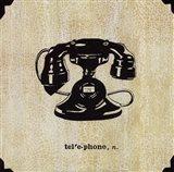 Office Telephone Art Print