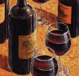 Wine Tasting I Art Print
