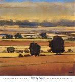 Across The Fields II Art Print