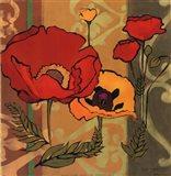 Majestic Poppies II Art Print