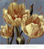 Lemon Tulips 1 Art Print