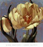 Lemon Tulips 2 Art Print