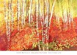 Golden Autumn Art Print