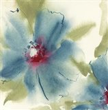 Blue Cosmos I Art Print